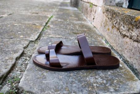 sandales en cuir pour les hommes
