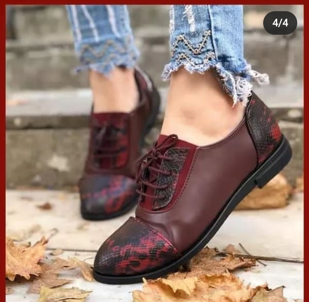 🤩nouveau haut 💯 tendance 2021 chaussures femme en cuir😍