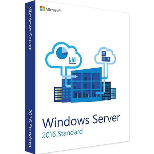 Windows Server 2016 Standard 64-bit Genuine License Key