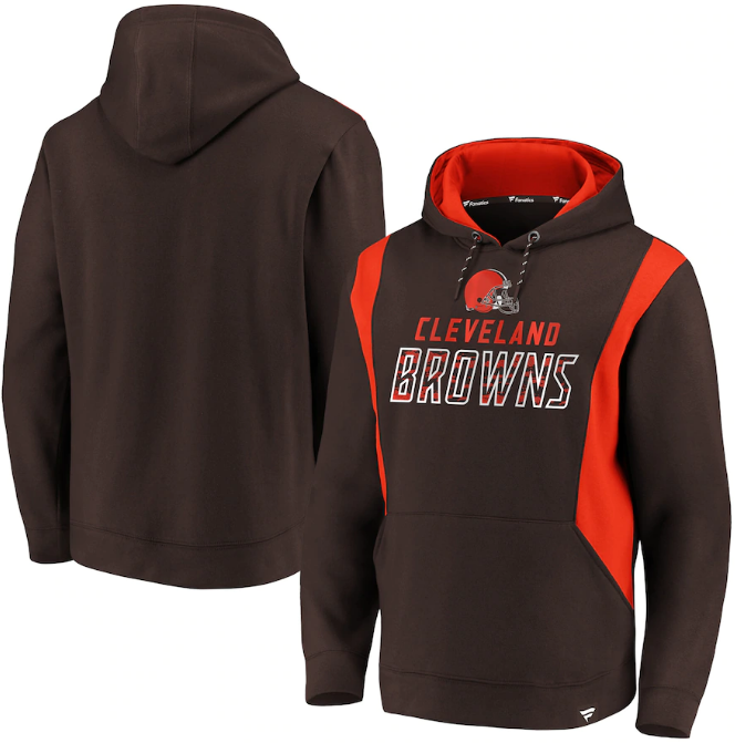 Cleveland Browns Pullover Hoodie  Fanatics Branded