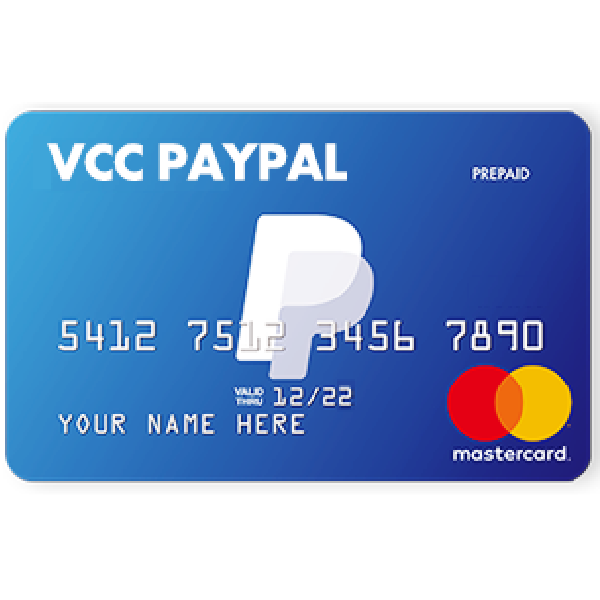 Sell Vcc Virtual Credit Card For PayPal Verification All Countries