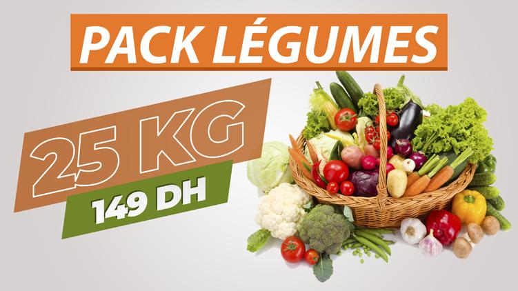Pack Légumes